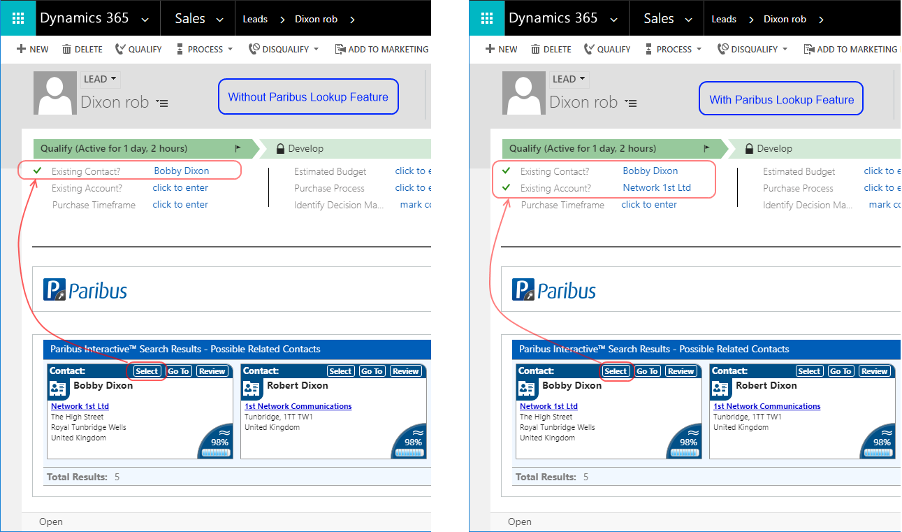 Adding Account Lookup Functionality to Forms in Microsoft Dynamics 365